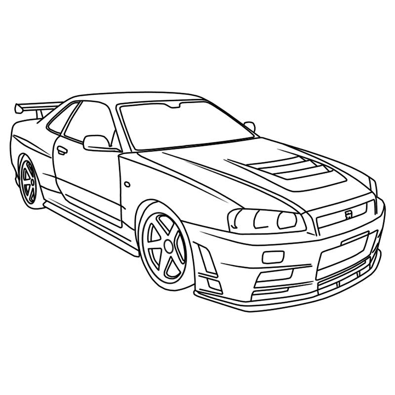Skyline R34